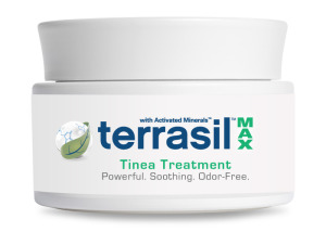 Aidance Skincare and Terrasil™ Tinea Treatment MAX