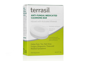 Treatment of Tinea Versicolor Terrasil Anti-Fungal Medicated Cleansing Bar